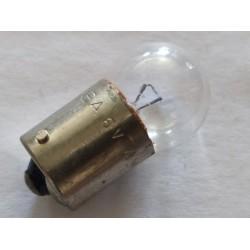 bombilla de piloto de 6 voltios 4 watios  con casquillo de 15 milimetros de 2 tetones