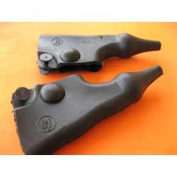 bultaco protectores (2) de maneta con emblema