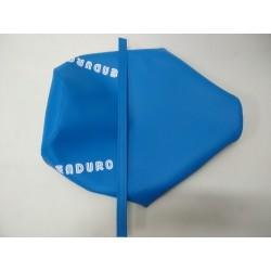 montesa enduro 80 y 125 H7 funda de asiento en azul