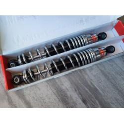 amortiguadores betor de 34 cm y muelle de doble efecto para moto de cross y enduro