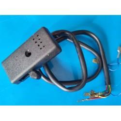 vespa conmutador de intermitentes original leonelli con chicharra avisador acustico y cableado