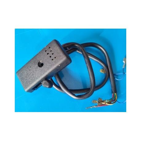 vespa conmutador de intermitentes original leonelli con chicharra acustica avisadora