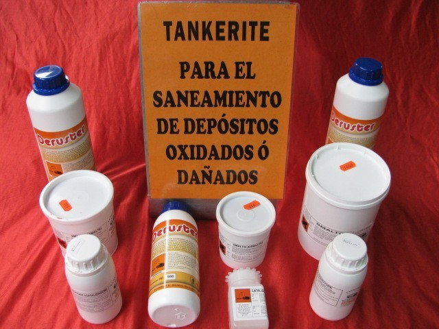 tankerite para sanear depósitos de chapa y fibra